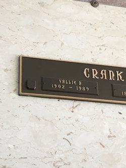 Vallie <I>Dillon</I> Crank