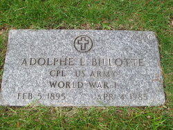 Adolphe L Billotte