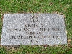 Anna V Billotte