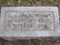 Augusta D. <I>Dege</I> Brandt