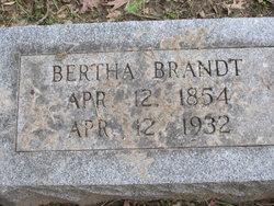 Bertha Brandt