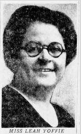 Leah Rachel Clara Yoffie