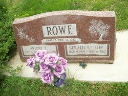 "Gerald Frank ""Jerry"" Rowe"