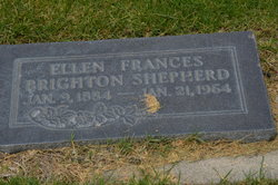 Ellen Frances <I>Brighton</I> Shepherd