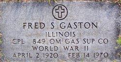 Fred S. Gaston
