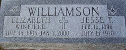 Elizabeth <I>Winfield</I> Williamson