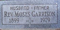 Rev Moses Garrison