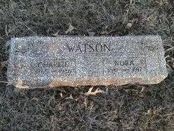 """Charles Thomas """"Charlie"""" Watson"""