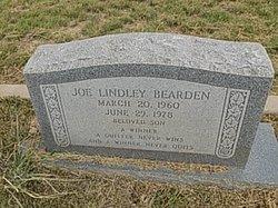Joe Lindley Bearden
