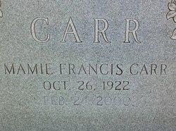 Mamie Francis Carr