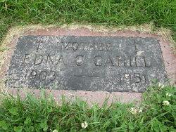 Edna C <I>Davis</I> Cahill