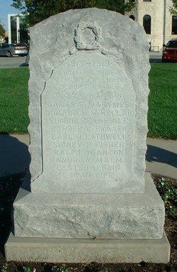 Company D 2nd Kansas Infantry World War I Memorial