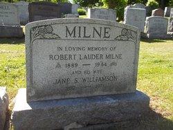 Sgt Robert Lauder Milne