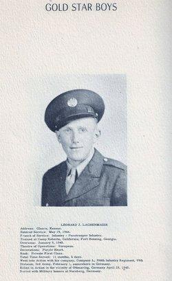 PFC Leonard J. Lachenmaier Jr.
