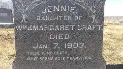 Jennie M Craft