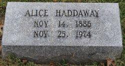 Alice Haddaway