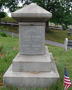 Mary <I>Taggart</I> Adams