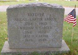 Abigail Carter <I>Wilson</I> Abbott
