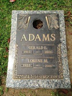 Gerald E Adams