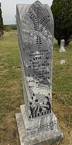 Katie M. <I>Collins</I> Davis