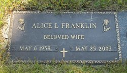 Alice L Franklin