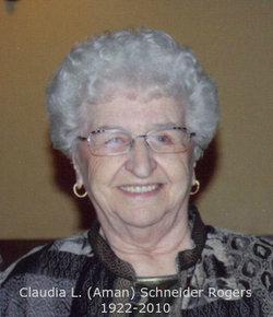 Claudia L. <I>Aman</I> Rogers