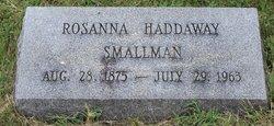 Rosanna <I>Haddaway</I> Smallman