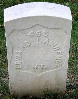 PVT Edward Lawrence