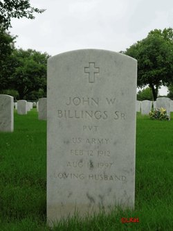 John W Billings, Sr