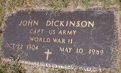 Capt John Dickinson