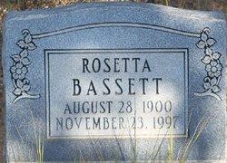 """Nancy Rosetta """"Rose"""" <I>Martin</I> Bassett"""