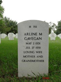 Arline M Gavegan