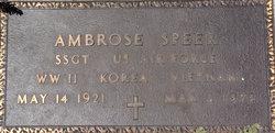 Ambrose Speer