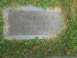 Grethel <I>Rader</I> Alley