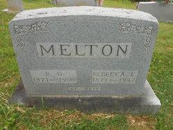 Rebecca E Melton