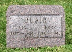 Ida <I>Critchfield</I> Blair