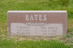 Alice <I>Uhstrom</I> Bates