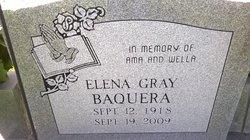 Elena <I>Gray</I> Baquera