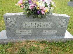 Joseph W Foreman