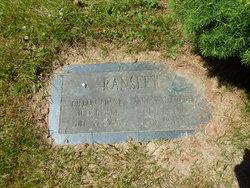 Annie Marie <I>Waterhouse</I> Ransley