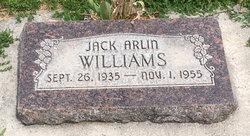 Jack Arlin Williams
