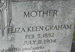 Eliza Maggie <I>Keen</I> Graham