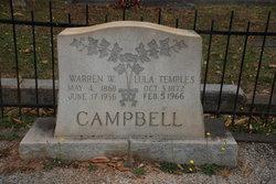 """Lou Ella """"Lula"""" <I>Temples</I> Campbell"""