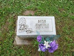 Jeanette F. <I>Wilson</I> Bush