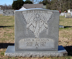 Lois Annie <I>Beasley</I> Jackson