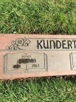 Johanna <I>Nathan</I> Kundert