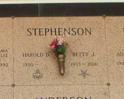 Betty J. <I>Wilson</I> Stephenson