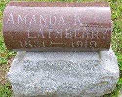 Amanda K <I>Everingham</I> Lathberry