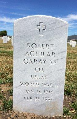 Robert Aguilar Garay, Sr