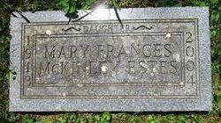 """Mary Frances """"Frances"""" <I>McKinley</I> Estes"""